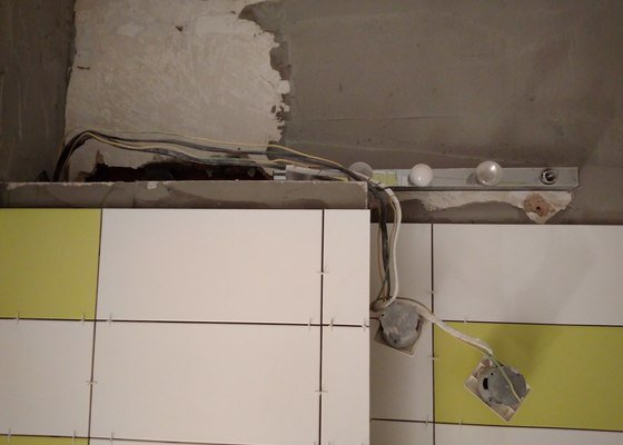 Drobne elektrikarske prace v koupelne