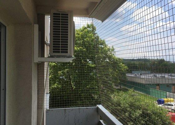 Síť pro kočky na balkon