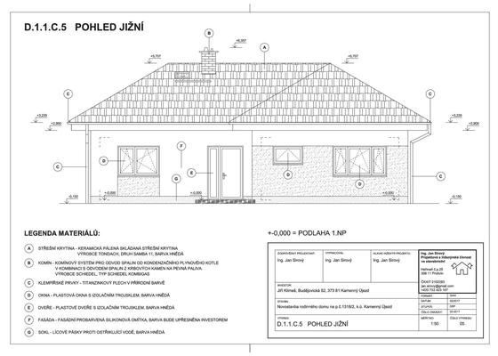 Projektová dokumentace pro územní souhlas a ohlášení stavby včetně vyřízení na stavebním úřadě