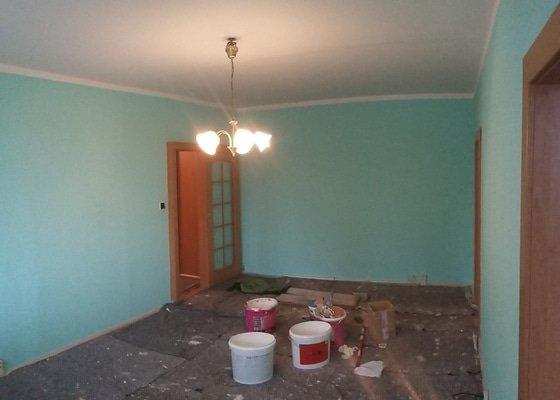 Malířské práce byt 3+1