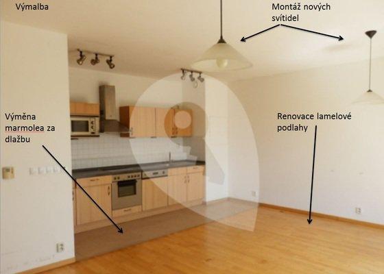 Renovace bytu před nastěhováním