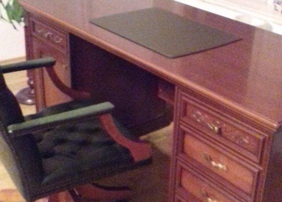 Vynesení nábytku z masivu, sestavení