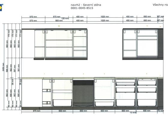 Instalace kuchyně IKEA (bez desky)