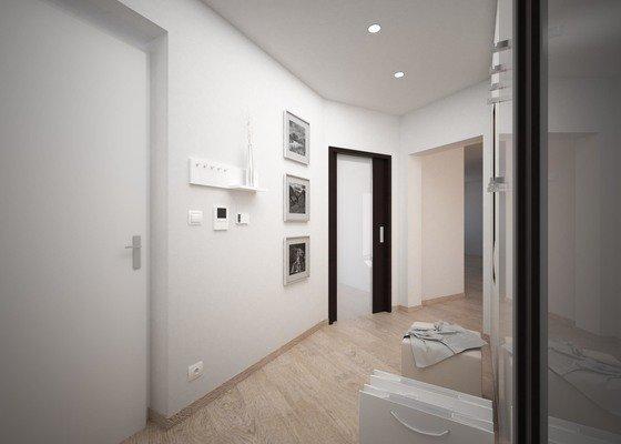 Návrh interiéru - mezonetový byt