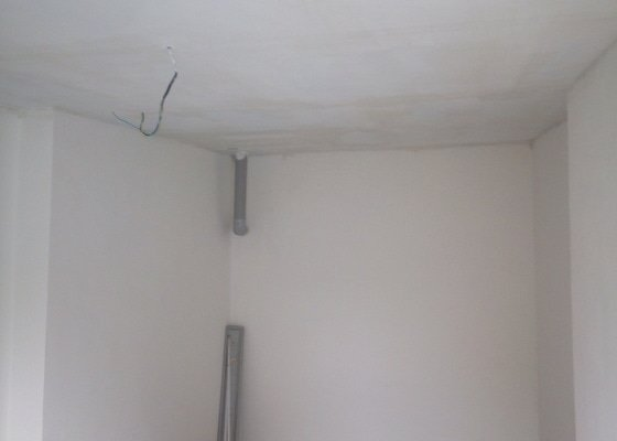 Oprava stropu ze sádrokartonu, cca 7 m2