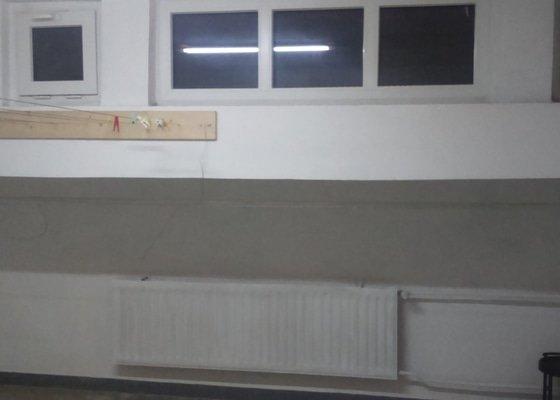 Rekonstrukce společných prostorů.