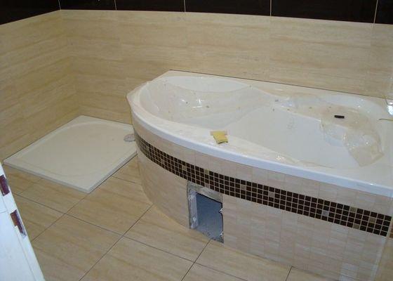Rekonstrukce koupelny v RD