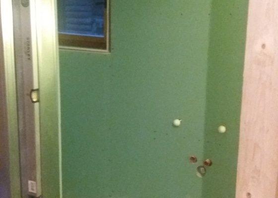 Obklad koupelny na chatě