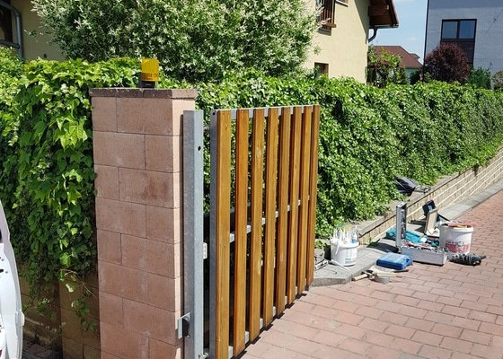 Zděné ploty