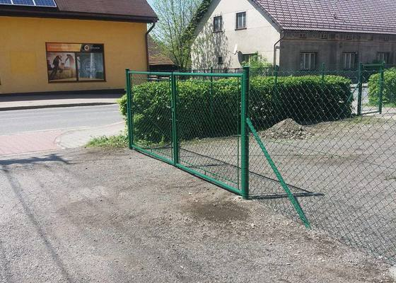 Výroba a montáž plotu