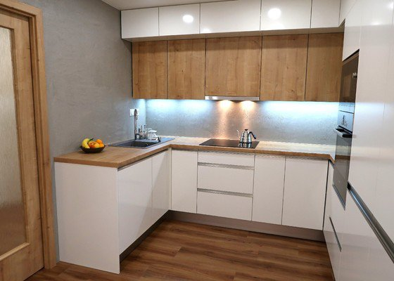 Betonová stěrka - kuchyně