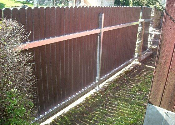 Montáž plotu