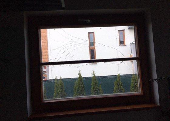 Vyměna skla. (Dřevené euro okno)
