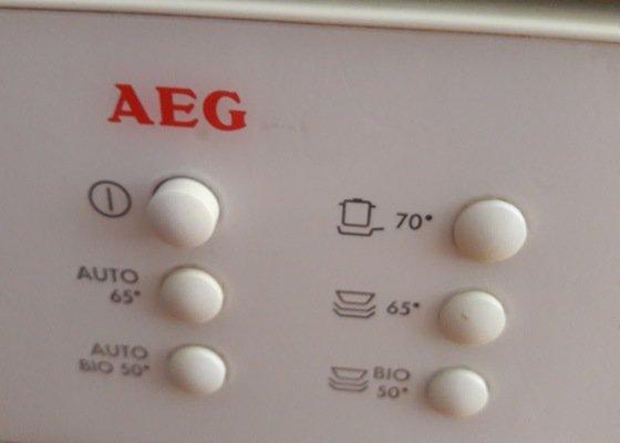 Oprava myčky AEG výměna hadice