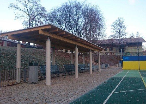 Altán v parku Kartouzská, Brno