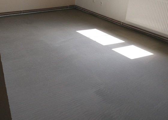 Vyrovnání betonové podlahy