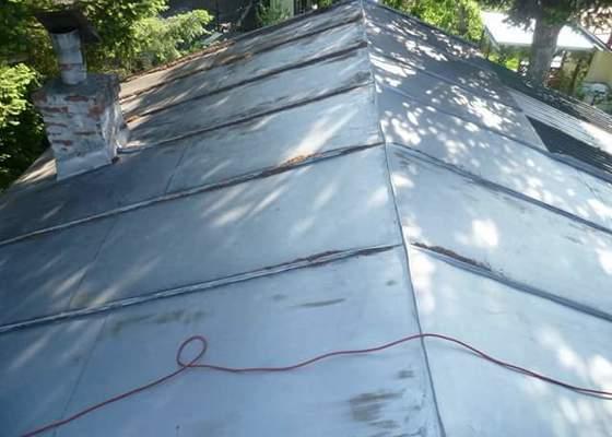 Nátěr chaty a střechy