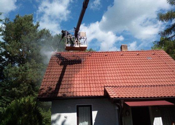 Čištění a impregnace střechy