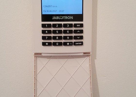 Zabezpečení RD systémem Jablotron 100