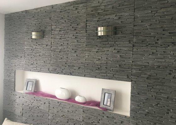 Malířské práce (6 pokojů) + drobné opravy prasklin ve zdi a sádrokartonu