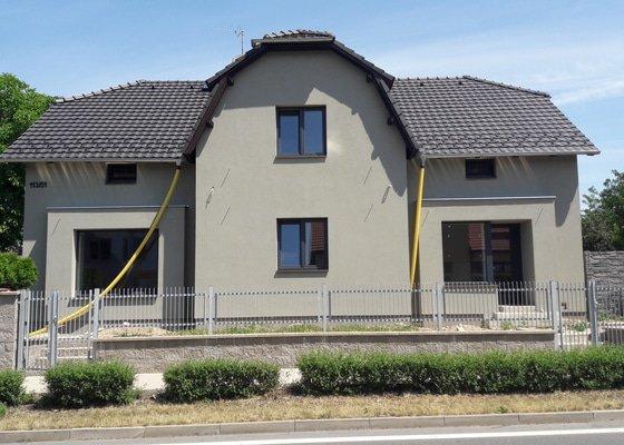 Zateplení fasády - Říčany u Prahy