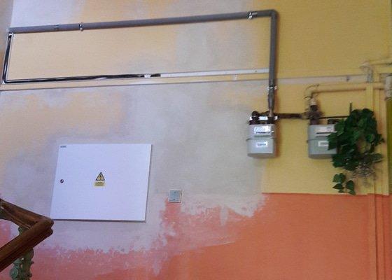 Rekonstrukce elektroinstalace v bytovém domě