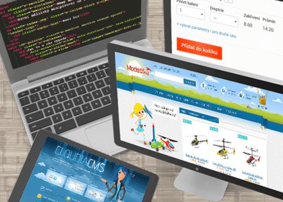 Webové stránky a eshopy