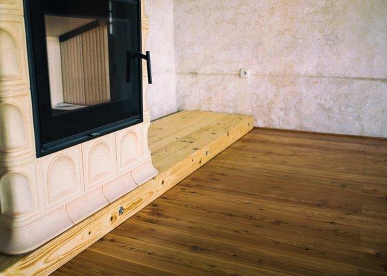 Broušení dřevěné podlahy