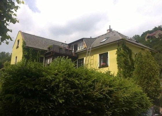 Rekonstrukce střechy + výna stř. oken
