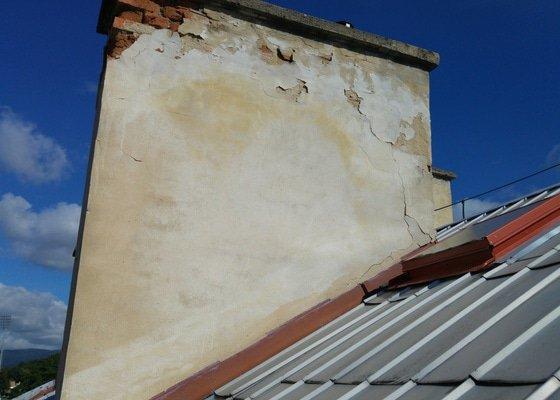 Oprava fasady kominovych telies