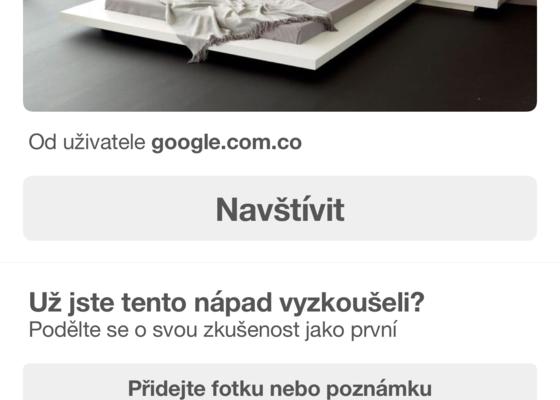 Výroba postele