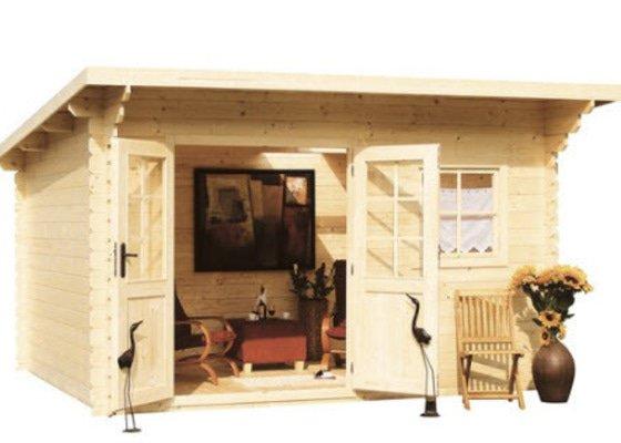 Smontovaní zahradního dřevěného domku