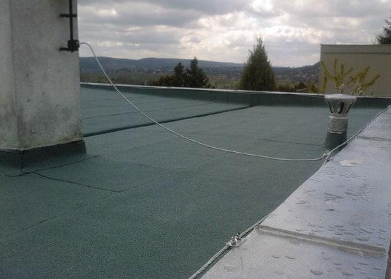 Oprava ploche střechy