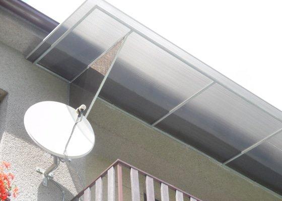 Zastřešení balkonu