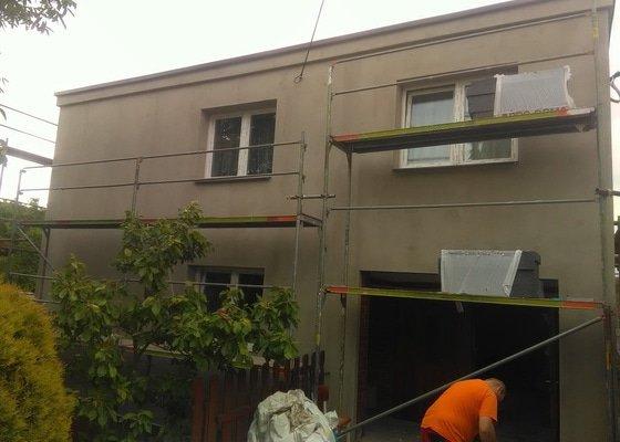 Výměna oken+ zateplení fasády