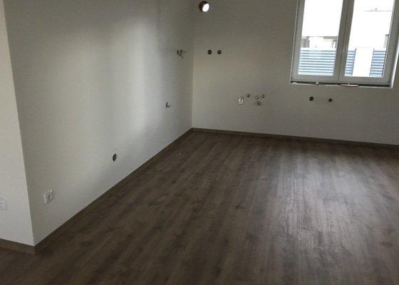 Zednické práce Realizace velké a malé koupelny, položení vinylu, montáž dveří