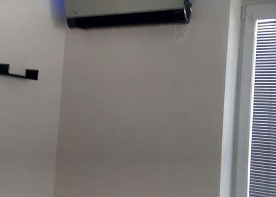 Montáž klimatizace do bytu s terasou.