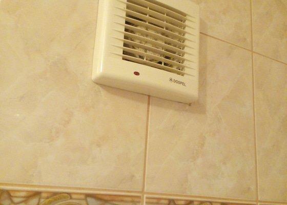 Oprava ventilátoru v koupelně