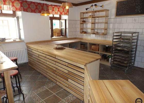 Návrh a realizace vybavení malé pekárny