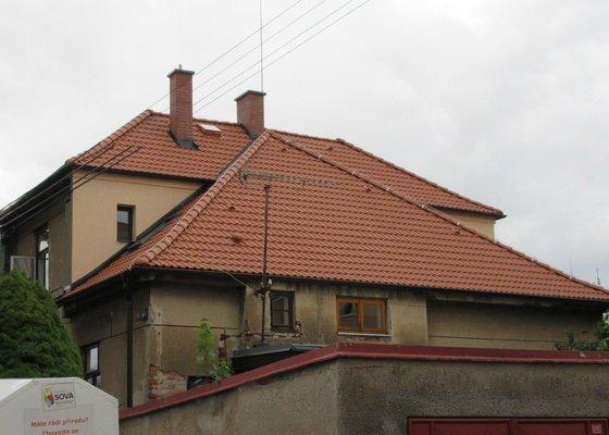 Montáž nové střechy