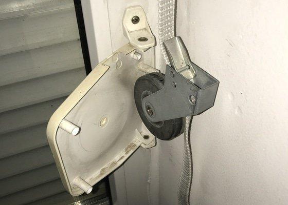 Oprava mechaniky navíjení předokenních rolet