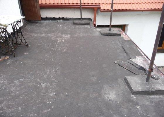 Rekonstrukce (hydroizolace) ploché střechy/terasy RD