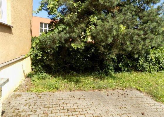 Úprava zahrady vedle Domova pro seniory