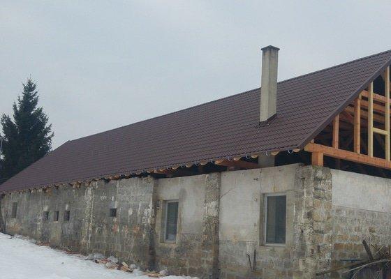 Kompletní rekonstrukce střechy hospodářské budovy