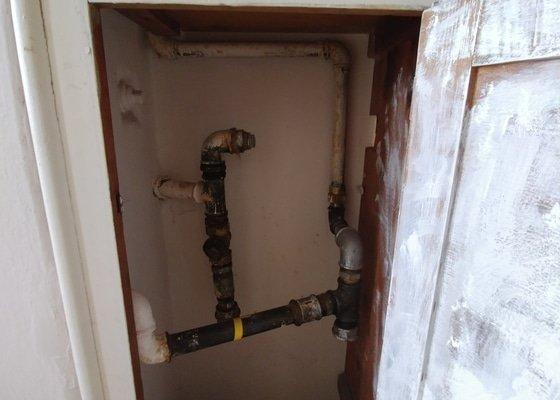 Odstranění plynové instalace a zařízení