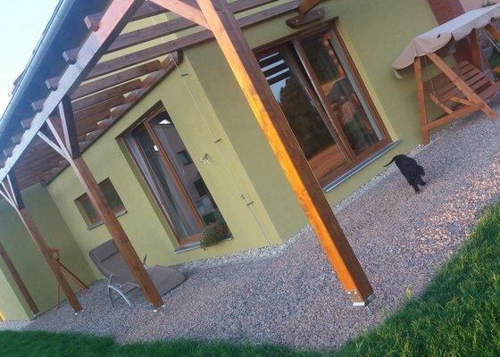 Výroba drevene pergoly 6,5mx2,8m