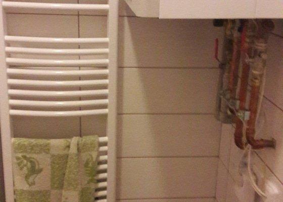 Menší předělávka koupelny - úprava voda a radiátor