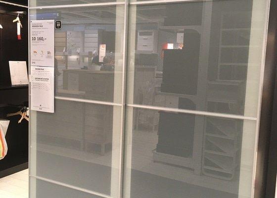 Dovoz satni skrine z Ikea Zlicin do Troji zitra kolem poledne
