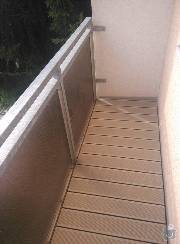 balkon wpc free bild balkon mit wpcdielen und dunklem with balkon wpc free wpcterrasse. Black Bedroom Furniture Sets. Home Design Ideas