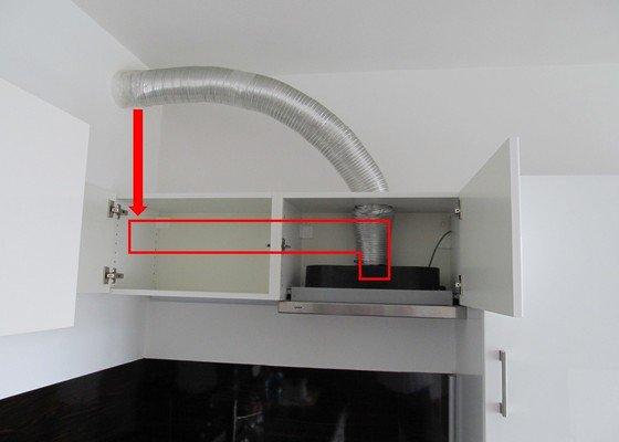 Předělání odtahu kuchyňské digestoře